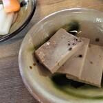 テマヒマ - 豆腐味噌漬け