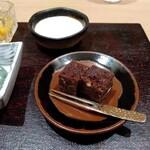 Restaurant つじ川 - デザート ガトーショコラ