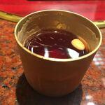 麻布 韓日館 - 食後の甘くて美味しいお茶