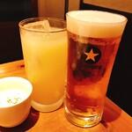 すこぶる名古屋 - 生ビールで乾杯♪