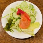 ウエスタン・グリル - セットのサラダ