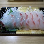 中央フード - 真鯛お造り¥398