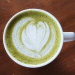ピースコーヒー - 抹茶豆乳ラテ