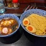 中華蕎麦 金魚 - ワンタンつけ蕎麦 ¥880