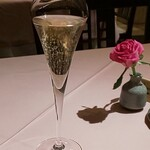 Tsukimisou - 乾杯ドリンク(シャンパン)