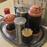 かねつき堂 - かねつき堂(埼玉県行田市本丸)卓上調味料