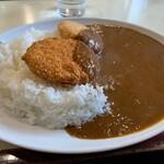 カレー専門店 横浜 - コロッケカレー中盛