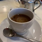 カレー専門店 横浜 - ホットコーヒー