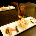 暖龍 - ランチの前菜