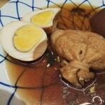 お多幸 - 卵    餅入り巾着