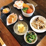玄米庵 - 料理写真:小鉢7品