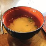 玄米庵 - お味噌汁
