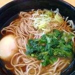 かわさき蕎麦 - 山葵菜そば