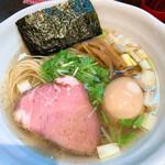 RAMEN火影 produced by 麺処ほん田 - 塩ラーメン800円味玉100円トッピング