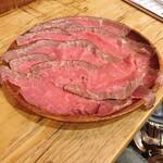 123830309 - 徳島県産スダチ牛の自家製ローストビーフ