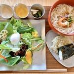 イモノ キッチン - 大門素麺とおにぎりセット
