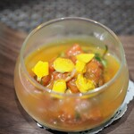 ARMONICO - 牡蠣とチーマディラーパのフラン