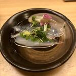 羽田市場 ギンザセブン - ヒラキンメの煎り酒浸し