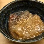 羽田市場 ギンザセブン - 海鮮の胡麻醤油漬け