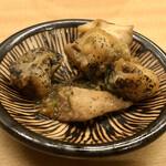 羽田市場 ギンザセブン - つぶ貝のフォアグラ和え