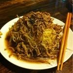 紅魯坊 - 牛肉と大根のサラダ