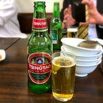 故郷味 - 青島ビール¥500 2020.1.6