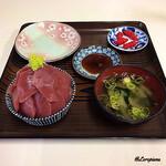 鶴亀屋食堂 - 大間産 本鮪丼ミニサイズ