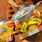 すぱいすキッチン ゆいま~る - 武雄産レモングラスティ―。その他、沖縄産月桃ハーブティ―など。