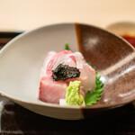 祇園 丸山 - お造り  鯛 鰤