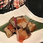 鮨処 魚一心 - 特製三身焼き(鮭 ホッケ 銀鱈)¥1.280