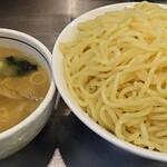 大阪大勝軒 - 【つけ麺(大盛) + 煮玉子】¥1000 + ¥120