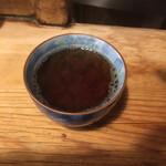 123856345 - 次に出てくる温かいほうじ茶