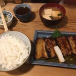 123857491 - にしん照焼定食850円(税込)
