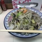 大善 - ちゃんぽん¥800+カキ入り¥150