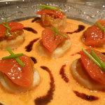 ナチュラルクイーン - ホタテと雲丹の前菜