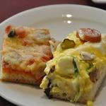 オッツィオ - パニーニはピザ2種