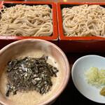 伊豆高原 藪蕎麦 - 料理写真:とろろそば 1100円。