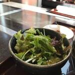 黒姫鶏舎 - サラダ