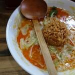 らー麺味噌やす - 料理写真:担々麺