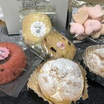 パティスリー ラキネス - 料理写真:先に、買ったお菓子を並べましょう(2020.1.20)