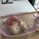 パティスリー ラキネス - 料理写真:可愛いい籠に入れてお会計!(2020.1.20)