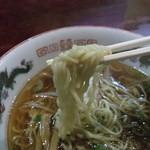 レストラン三日月 - レストラン三日月・ラーメン 麺近影