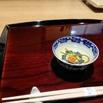 Tagawa - 香煎茶、昆布と梅干し
