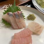 お食事処 秀 - カンパチ・ヒラメ・トンボシビ