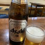 お食事処 秀 - 瓶ビール(中)   605円(税込)