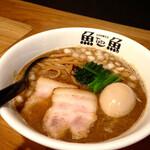 とと - 責めの煮干しラーメン ¥850 + 煮卵 ¥150