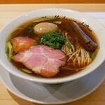麺庵ちとせ - 料理写真:☆【麺庵ちとせ】さん…醤油&煮玉子ちゃん(≧▽≦)/~♡☆