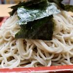 更科 - ざる蕎麦650円+大盛150円!