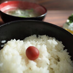 OK - ご飯と味噌汁