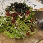 鳥取県・島根県 郷土料理かば - ねばねばサラダ 580円